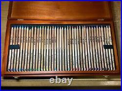 120 Karisma Pencils! 108 Unique Colours + 12 Graphite Aquarelle in Wooden Box