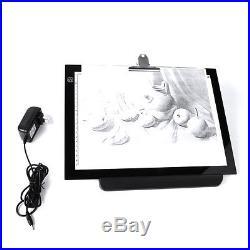 14 LED Artist Stencil Board Tattoo Drawing Tracing Table Display Light Box Pad