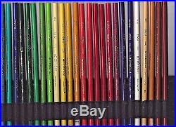 50 Vintage Sanford Prismacolor thick soft core art pencils not boxed USA