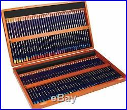 72 Derwent Inktense Pencils, 4mm Core Wooden Box Arts Drawing Crafts Supplies