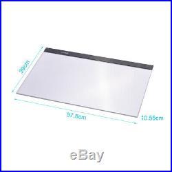 A2 LED Tracing Light Box Board Art Tattoo Drawing Copy Pad Table Stencil N8O2