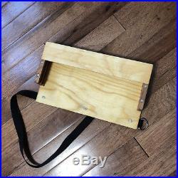 ALLA PRIMA BLACKFOOT Pochade Box Plus Accessories USED EXCELLENT CONDITION
