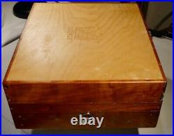 ALLA PRIMA POCHADE 10 x 12 Bitterroot Wood Pochade Box for Painting Used