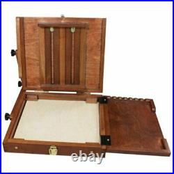 Air Artist Easel Plein Pochade Box Large Art wooden Adjustable Artist painting