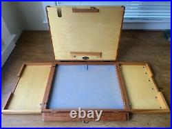 Alla Prima Pochade 11 x 14 Yellowstone Lite Paint Box Easel with Two Panel Lid