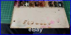 Antique Vintage Lechertier Barbe Ltd Artist Box Set Paints Watercolour