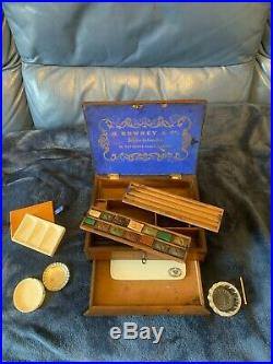Antique Watercolour Artists Paint Box By George Rowney Art Painting
