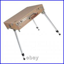 Artist Easel Box Art Drawing Painting Wooden Table Sketching Box with Legs