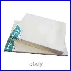 Artist Quality Stretched Canvas Acrylic Primed 100% Cotton 380 gsm 11 oz Box