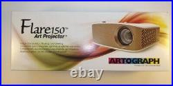 Artograph Flare150 Art Projector White BRAND NEW SEALED IN BOX