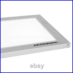 Artograph LightPad 24x17 Inch Artist Light Box Tracing/Drawing, Silver(Open Box)