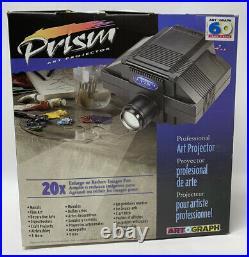 Artograph Prism 225-090 Professional Art Projector EUC With ORIGINAL BOX FREE SHIP
