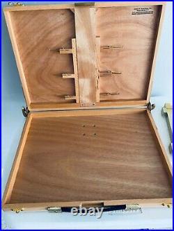 Artwork Essentials EASYL Classic-1 Pochade Box Easel 12x16 withSteel Side Tray