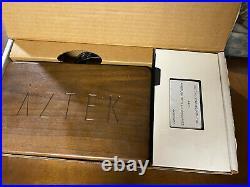 Aztek A4709 Airbrush Set Very Nice In Box & Wood Case