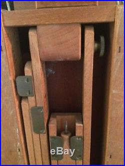BREV SGDG Pochade Artist Easel 15x21x6 Box Plein Air Painting, Palette Vintage