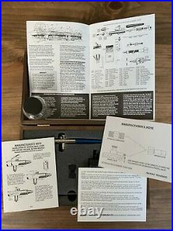 Badger 150 Professional Airbrush Set Wood Box with Regulator & Moisture Trap NEW