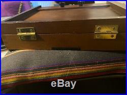 Bargain Sienna Plein Air Pochade Box Medium