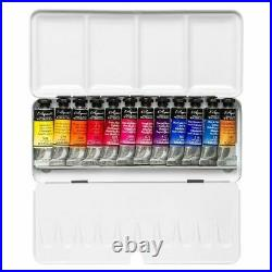 Billy Showell Botanical Artist Watercolour Paint Metal Box of 12 Tubes