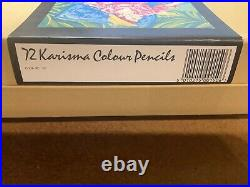 Box 72 Karisma Colour Pencils! Minor marks on box. ALL PENCILS UNUSED