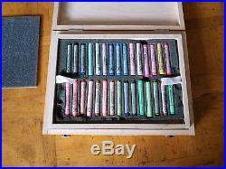 Box of 60 REMBRANDT Soft Pastels For Artist. Slightly used. Made by Royal Talens