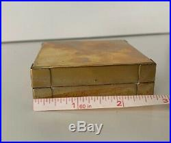 Brass Watercolor Palette Bijou Box Winsor And Newton Daniel Smith Schmincke