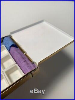Brass Watercolor Palette Bijou Box Winsor And Newton Daniel Smith Schminke