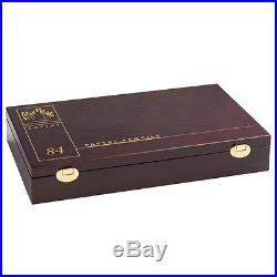 CARAN DACHE PASTEL PENCILS Luxury wooden box of 84 assorted pastel pencils