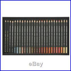 CARAN dACHE Museum Aquarelle Watercolour Pencil Box of 76 + 2 Technalo