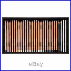 Caran D'Ache Artist Colour Pencils 76 Luminance Wooden Gift Box Tray Set 6901