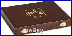 Caran Dache Prismalo 30 & Neocolor II 40 Wooden Box Artist Pencil Wax Crayon Set
