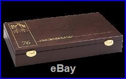 Caran d'Ache Luminance 6901 76 + 4 Repeat Colour Pencil Set Wood Box 6901.476