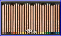Caran d'Ache Luminance 6901 Professional Colour Pencils (Box of 76 + 2 Blenders)