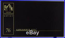 Caran d'Ache Luminance Colored Pencil Sets Set of 80 Wood Box (6901.476)