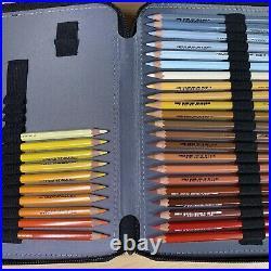 Caran d'Ache Pablo Colored Pencil Set Of 120 Metal Box (666.420) + Case