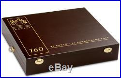 Caran d'Ache Pablo & Supracolour 160 Colour Pencils Set Artist Wooden Box Gift