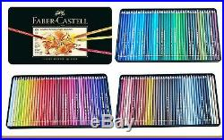 Coloured pencils POLYCHROMOS 120 coloursFaber-Castell 110011 in metal box
