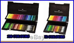 Coloured pencils POLYCHROMOS 72, 120 colors Faber-Castell wooden box