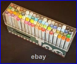 Copic Classic Marker 72 Piece Set A New Condition But Opened Box And Tested