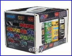 Createx Auto Air Colors 4997-02 Quicksilver Chrome candy2o Airbrush Box Set