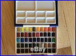 DANIEL SMITH Extra Fine Watercolor Stick 50 & holbein watercolor box