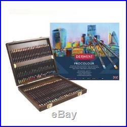 DERWENT PROCOLOUR Professional Quality Artists Colour Pencil 48 Wooden Box