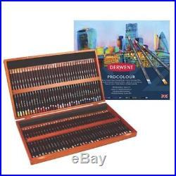 DERWENT PROCOLOUR Professional Quality Artists Colour Pencil 72 Wooden Box