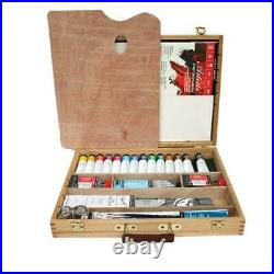 Daler-Rowney Artists Oil Colour Deluxe Wooden Box