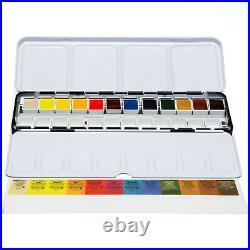 Daniel Smith 12 Watercolour Hand Poured Half Pan METAL BOX Set