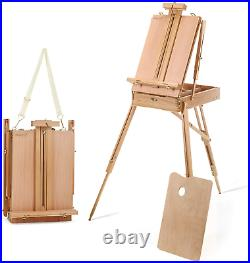 Delta Savings Club Portable Art Easel with Storage Sketch Box, French Style A