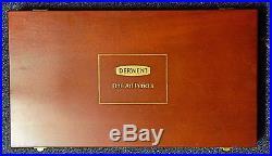 Derwent 72 piece Inktense wooden box NEW