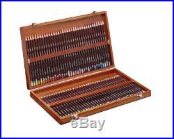 Derwent Coloursoft Professional Art Pencils Wooden Box Set of 72 Colours