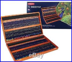 Derwent Inktense Pencils 72 Wooden Box Set Latest Style