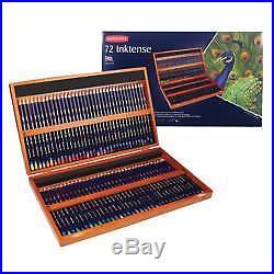 Derwent Inktense Wooden Box Pencil Set Of 72