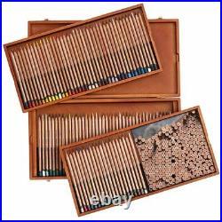 Derwent Lightfast Coloured Color Pencils Wooden Box of 100